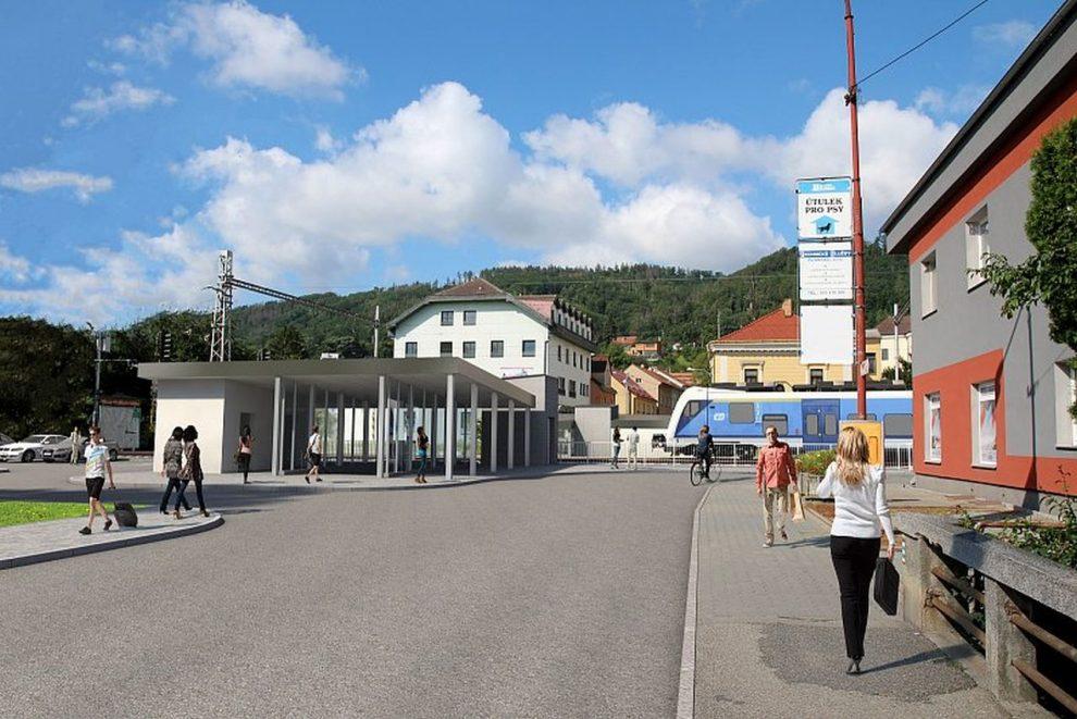 Vizualizace nového podchodu v Blansku. Foto: Městský úřad v Blansku