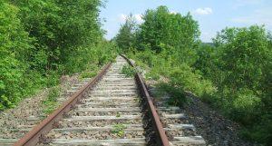 Nepoužívaná trať. Foto: Ministerstvo dopravy Bádenska-Württemberska