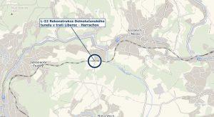 Dolnolučanský tunel je mezi zastávkami Jablonecké Paseky a Lučany nad Nisou. Foto: Správa železnic