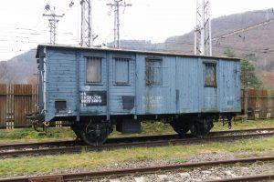 Vůz Ggz 112-171 z kopřivnické vagonky z roku 1921. Pramen: ZSSK