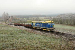 Přeprava kolejí do Frýdlantu. Foto: Železniční muzeum Frýdlantských okresních drah