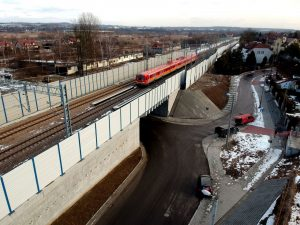 Modernizovaná trať mezi Krakovem a Katovicemi. Foto: PLK