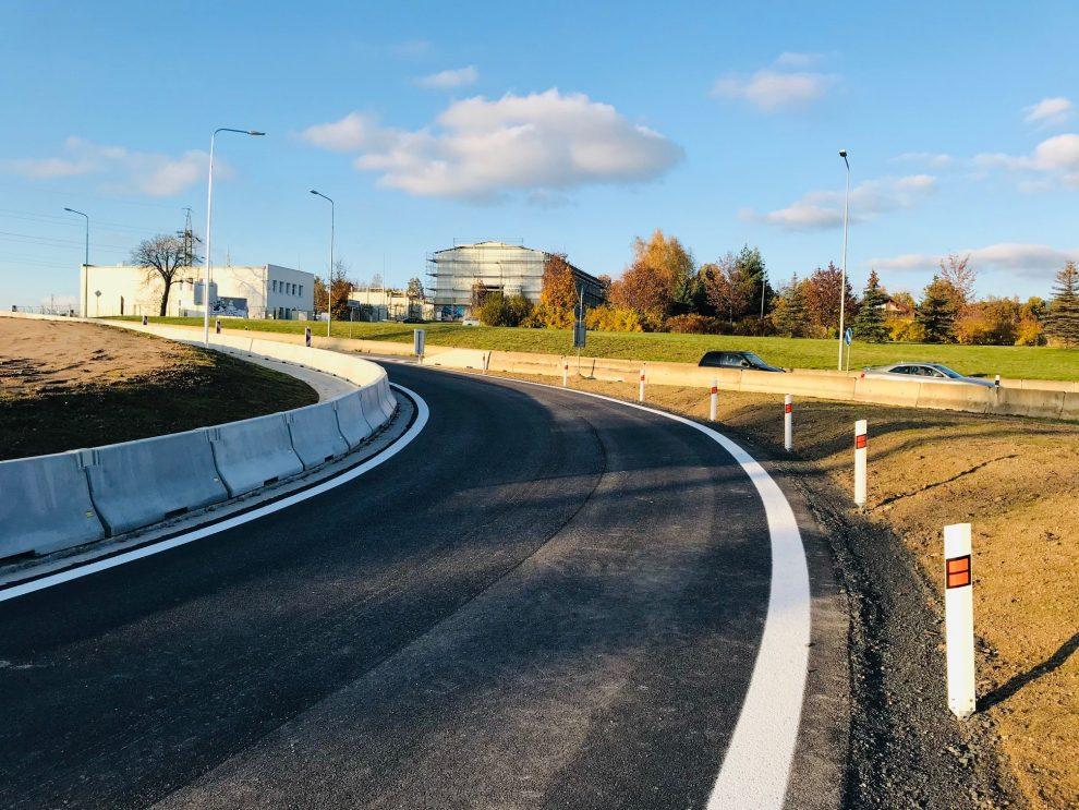 Nový bypass na Kunratické v Liberci. Foto: ŘSD