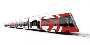 Vizualizace nové tramvaje pro Kolín nad Rýnem. Foto: Alstom