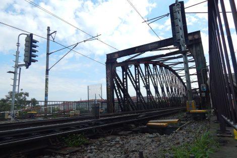 Železniční most pod Vyšehradem. Autor: Zdopravy.cz/Jan Šindelář