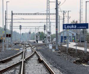 Stanice Louka u Litvínova. Foto: Správa železnic