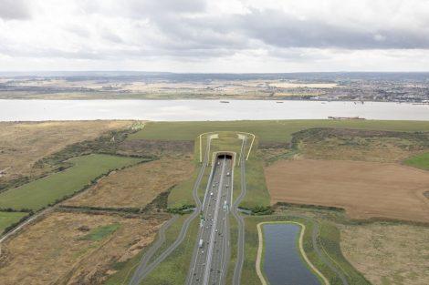 Vizualizace nového tunelu pod Temží. Foto: Highways England