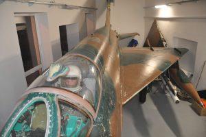 Jindřich Machalínek v MiG-21