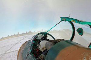 Simulátor letadla MiG-21 ve Vratislavicích nad Nisou. Foto: Realsim.cz