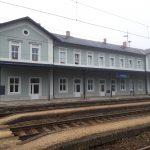 Nádražní budova Tršnice. Pramen: Správa železnic