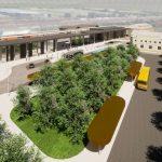 Návrh podoby výpravní budovy v Nymburce. Foto: AFRY CZ