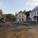 Oprava silnice v Oldřichově v Hájích v září 2020. Foto: Liberecký kraj