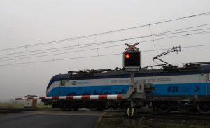 Železniční přejezd Oleško. Foto: YouTube.com