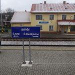 Nádraží Horní Planá na trati 194 z Českých Budějovic do Černého Kříže. Autor: Zdopravy.cz/Jan Šindelář