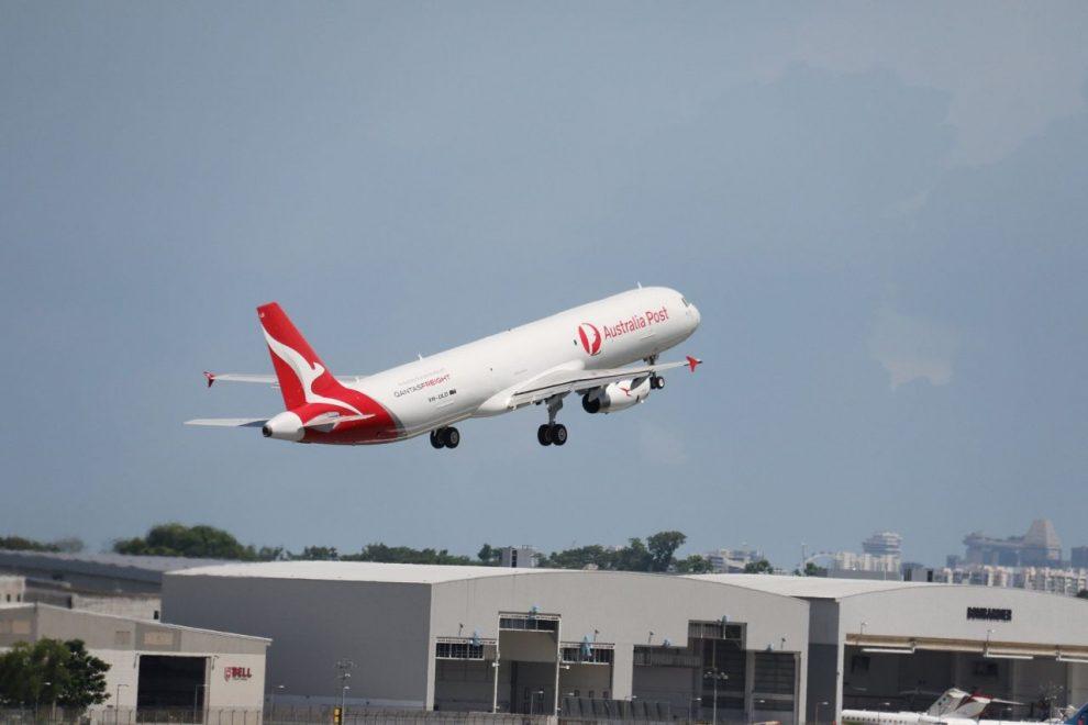 První A321 přestavěný na A321P2F v barvách Qantas. Foto: Airbus