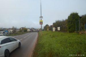 Měření rychlosti v Tišnově. Foto: Městský úřad Tišnov