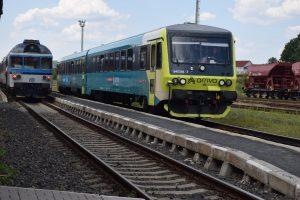 Vlaky Českých drah a Arrivy v Rumburku. Foto: Facebookový profil Rumburku
