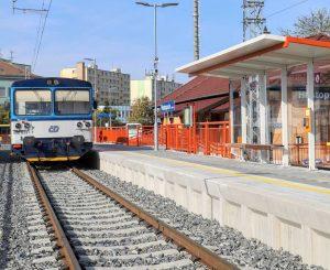 Nová podoba stanice Hustopeče u Brna. Foto: Správa železnic