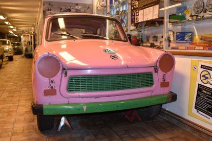 Trabant muzeum Motol. Foto: Vlastimil Kučera