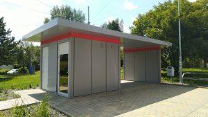 Nové sociální zázemí na konečné Maloměřický most. Foto: DPMB