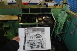 Úprava stanoviště strojvedoucího Žehličky. Foto: Adam Kotas