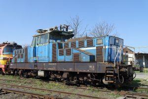 Lokomotiva 210.017 před opravou. Foto: Adam Kotas