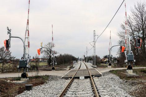 Modernizace trati Olomouc - Uničov. Pramen: Správa železnic