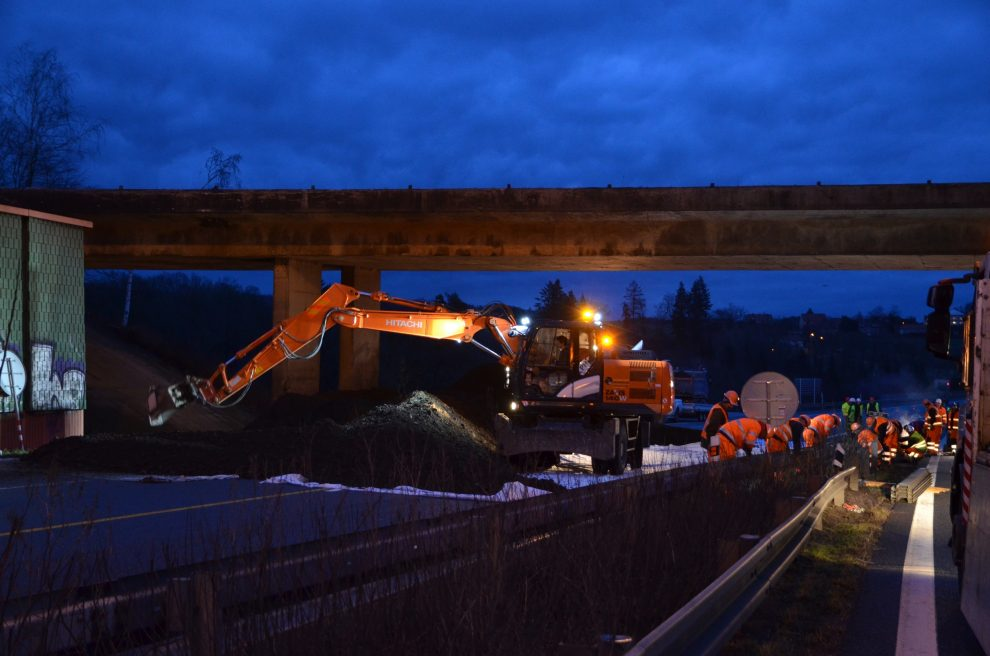 Modernizace D1 v úseku Mirošovice - Hvězdonice. Pramen: ŘSD