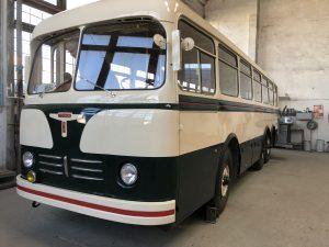 Horský autobus Karosa T 500 HB z roku 1955. Pramen: archiv Martin Uher