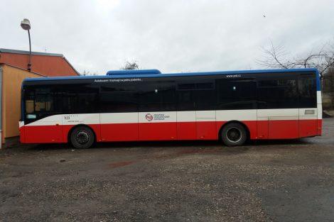 Autobus společnosti Martin Uher v barvách PID. Autor: Zdopravy.cz/Jan Šindelář