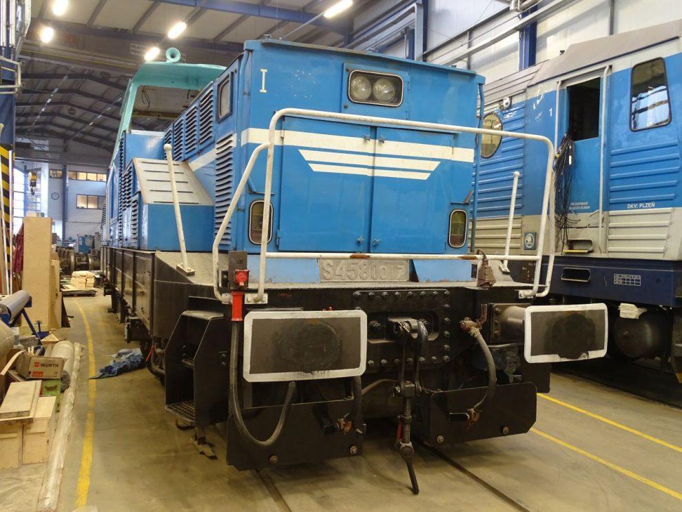 Aktuální stav lokomotivy 210.017 (4.12.2020). Foto: Adam Kotas