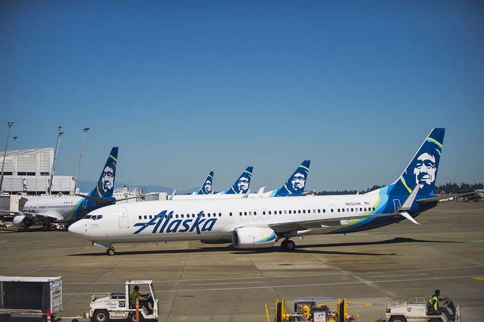 Boeing 737-800 společnosti Alaska Airlines. Foto: Alaska Airlines