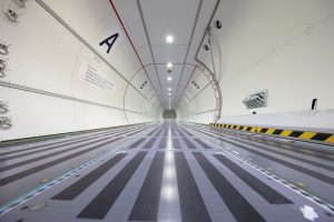 Nákladový prostor ATR 72-600F. Foto: ATR
