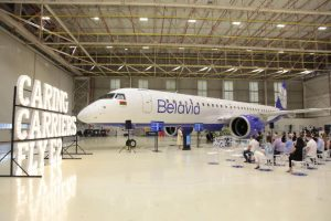 Nový Embraer E195-E2. Foto: Belavia
