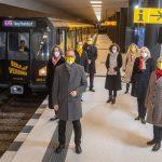 Otvírání nového metra v Berlíně. Foto: Berlin.de