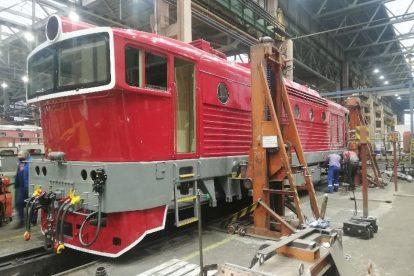 Lokomotiva 750.338 v retronátěru. Foto: ČD Cargo