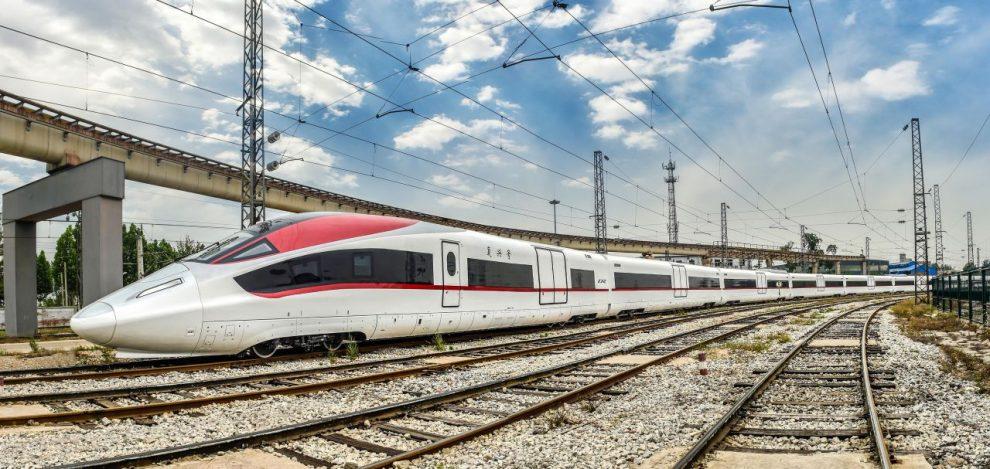 Prototyp nákladního vysokorychlostního vlaku. Foto: CRRC