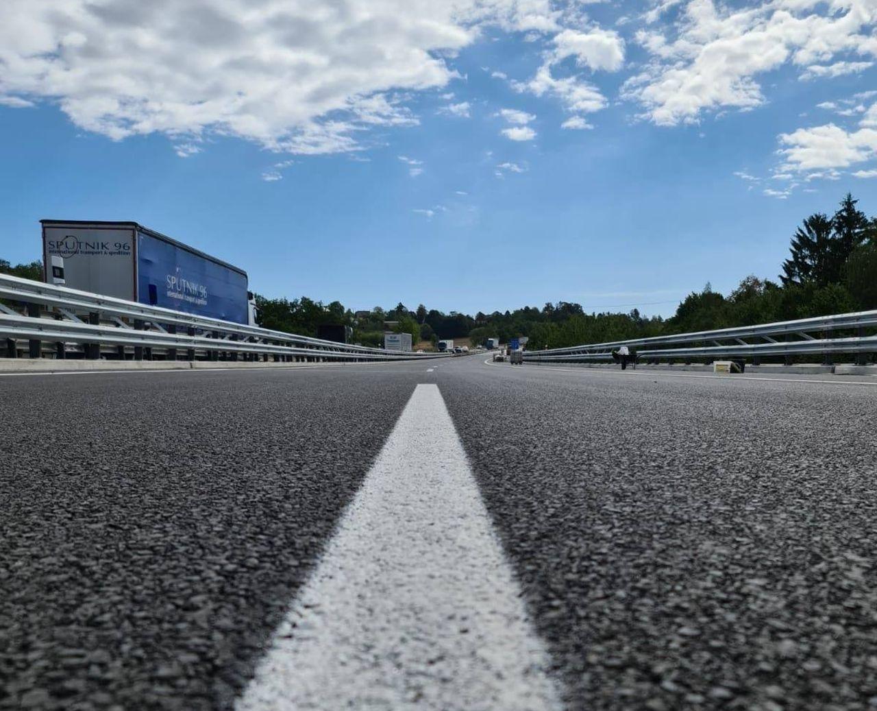 Modernizovaná D1. Foto: Eurovia CS