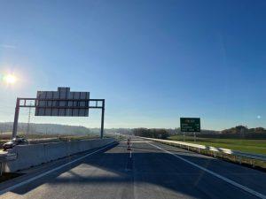 Nový úsek dálnice D48 mezi Rychalticemi a Rybím. Foto: Metrostav Infrastructure