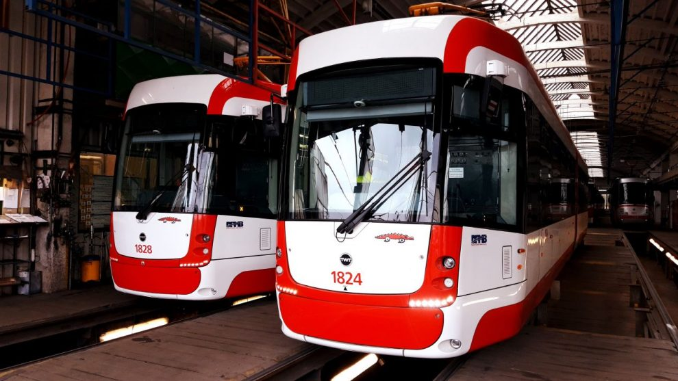 Tramvaje EVO 2 Drak v Brně. Foto: DPMB