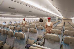 Nová ekonomická třída v A380 Emirates. Foto: Emirates