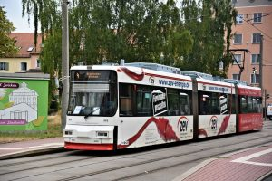 Tramvaj GT6M ve Zwickau. Foto: Michal Chrást