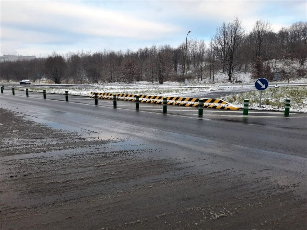 Dokončené úpravy křižovatky u Havířova. Foto: ŘSD