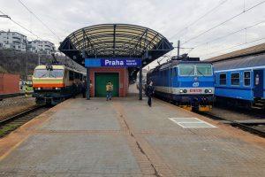 Vlaky Českých drah na hlavním nádraží v Praze. Foto: Jan Sůra /Zdopravy.cz