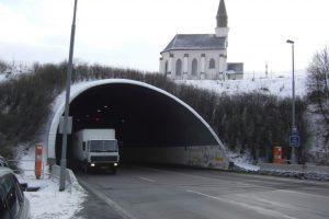 Tunel Hřebeč. Foto: Policie.cz