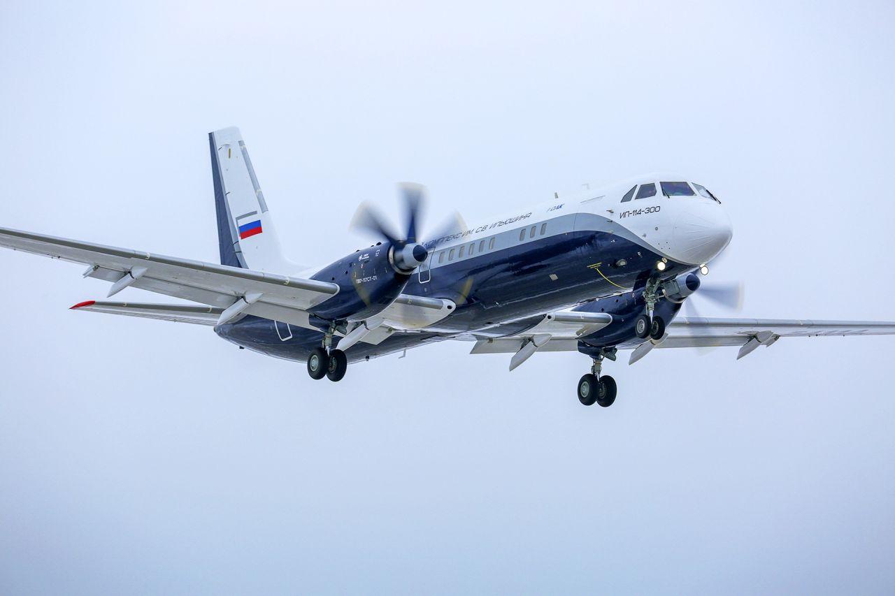 Nový letoun Il-114-300. Foto: UAC