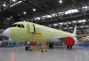 Letadlo MC-21-310. Foto: Irkut