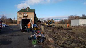 Trhání kolejí v Jiříkově. Foto: Jiří Nakládal