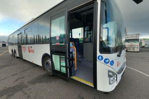 Nové autobusy Iveco Crossway 14,5 LE pro ČSAD Liberec. Foto: Liberecký kraj