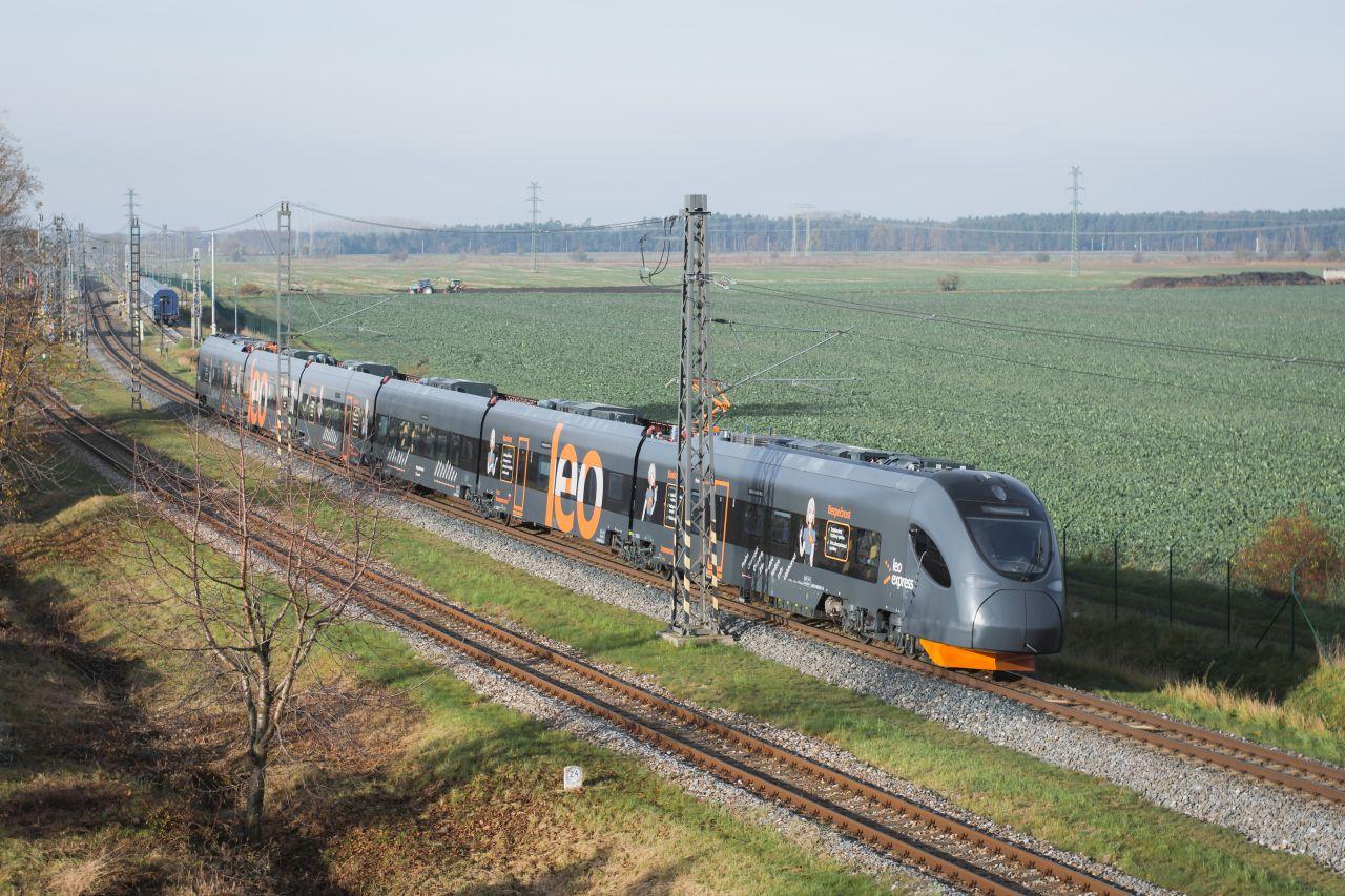 Elektrické jednotky Sirius pro Leo Express. Foto: LE